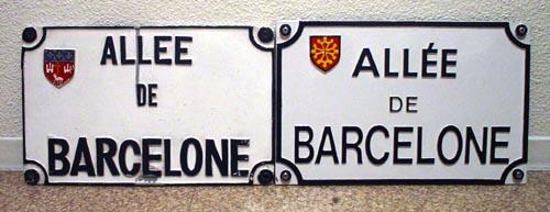 allée de barcelone