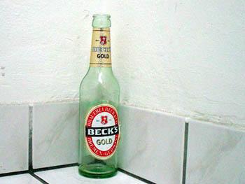 Flasche Becks Beck's Gold