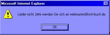 Leider nicht, bitte wenden Sie sich an webmaster@nch-buch.de